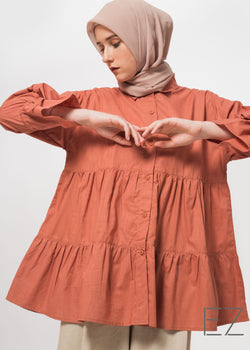 Limara Shirt Terracotta