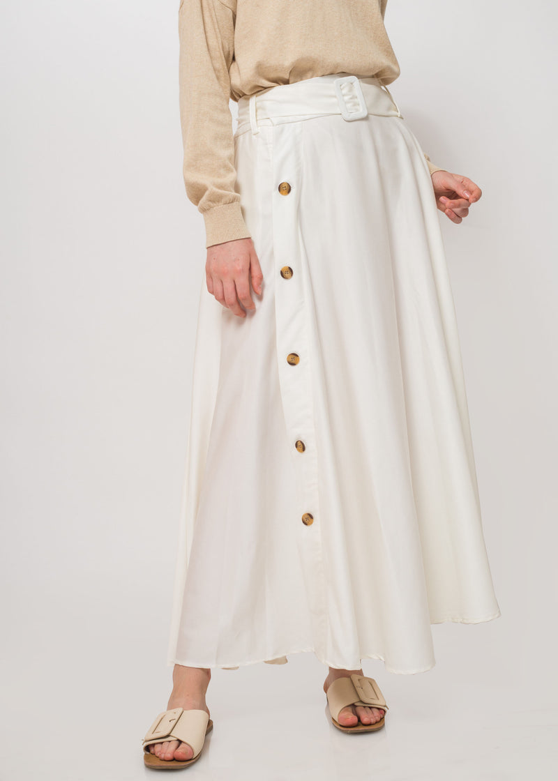 Rava Skirt White