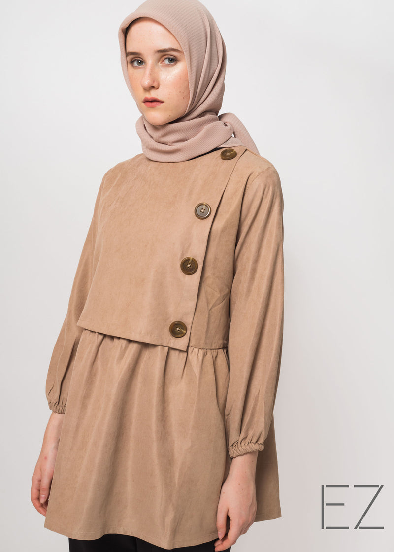 Eline Top Brown