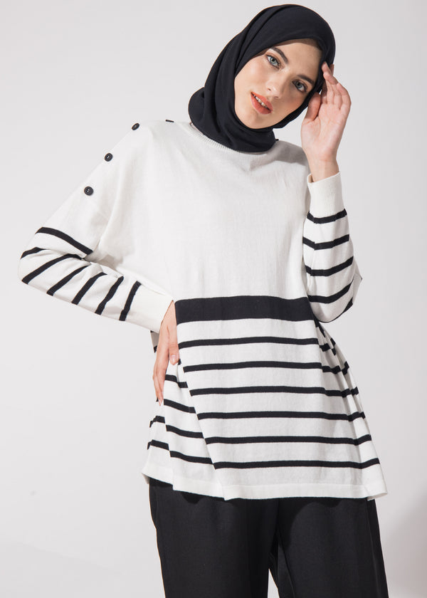 Elisya Sweater Broken White