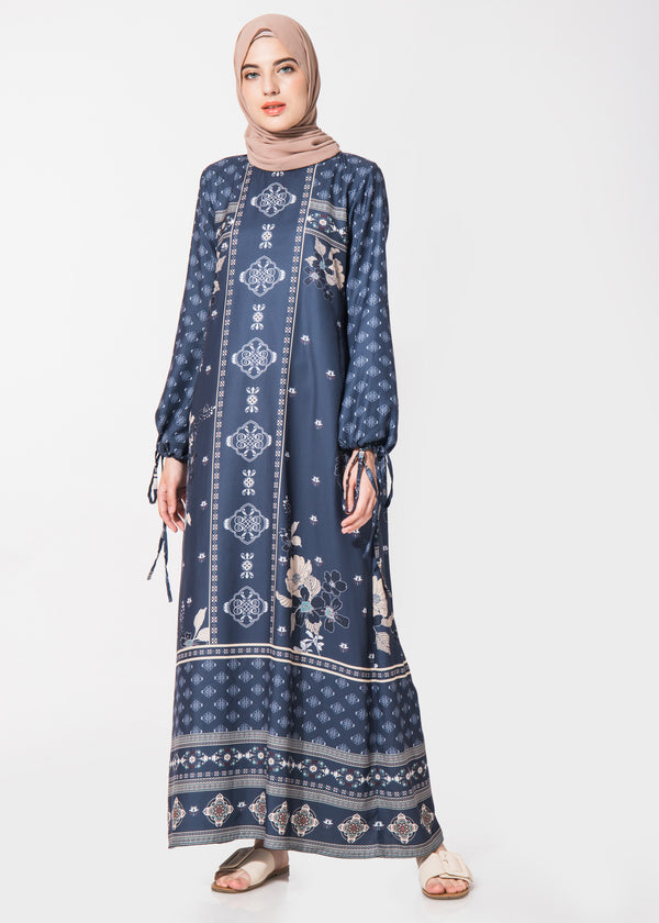 Firdira Dress Navy