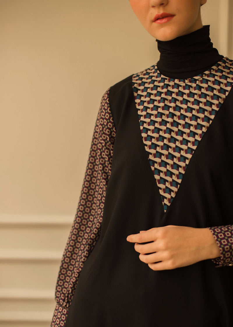 Tiraza Dress Black
