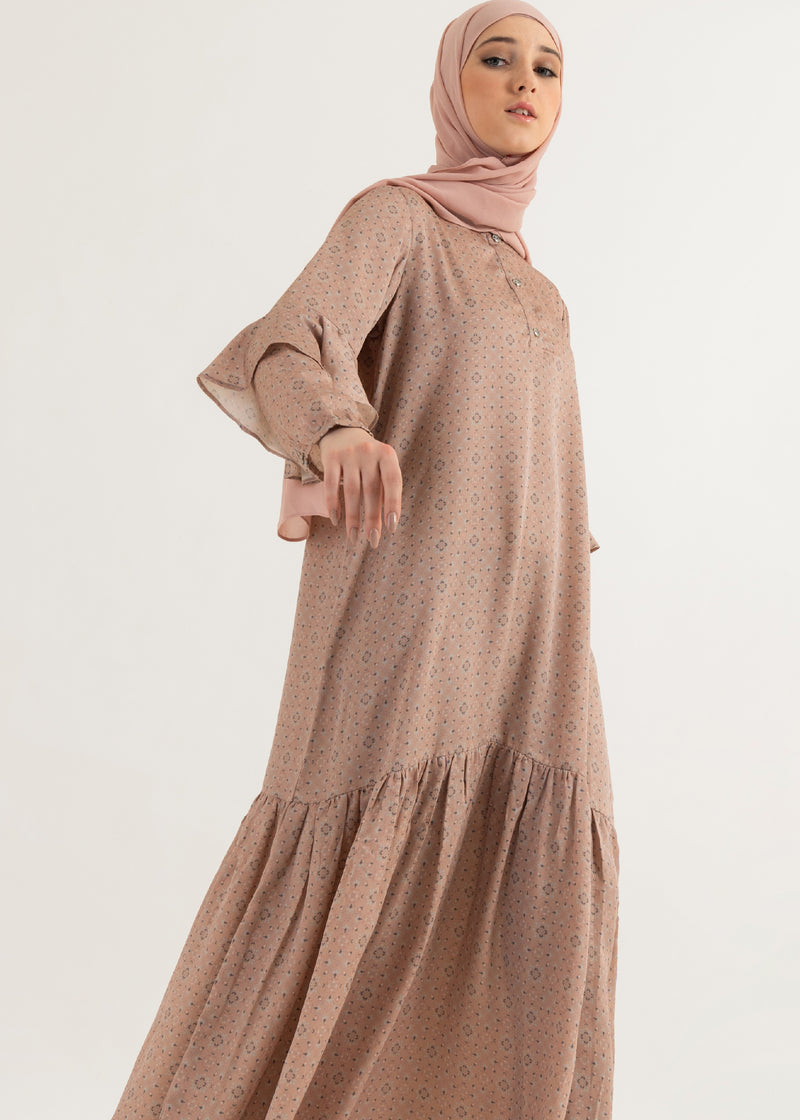 Navisha Dress Dusty Pink
