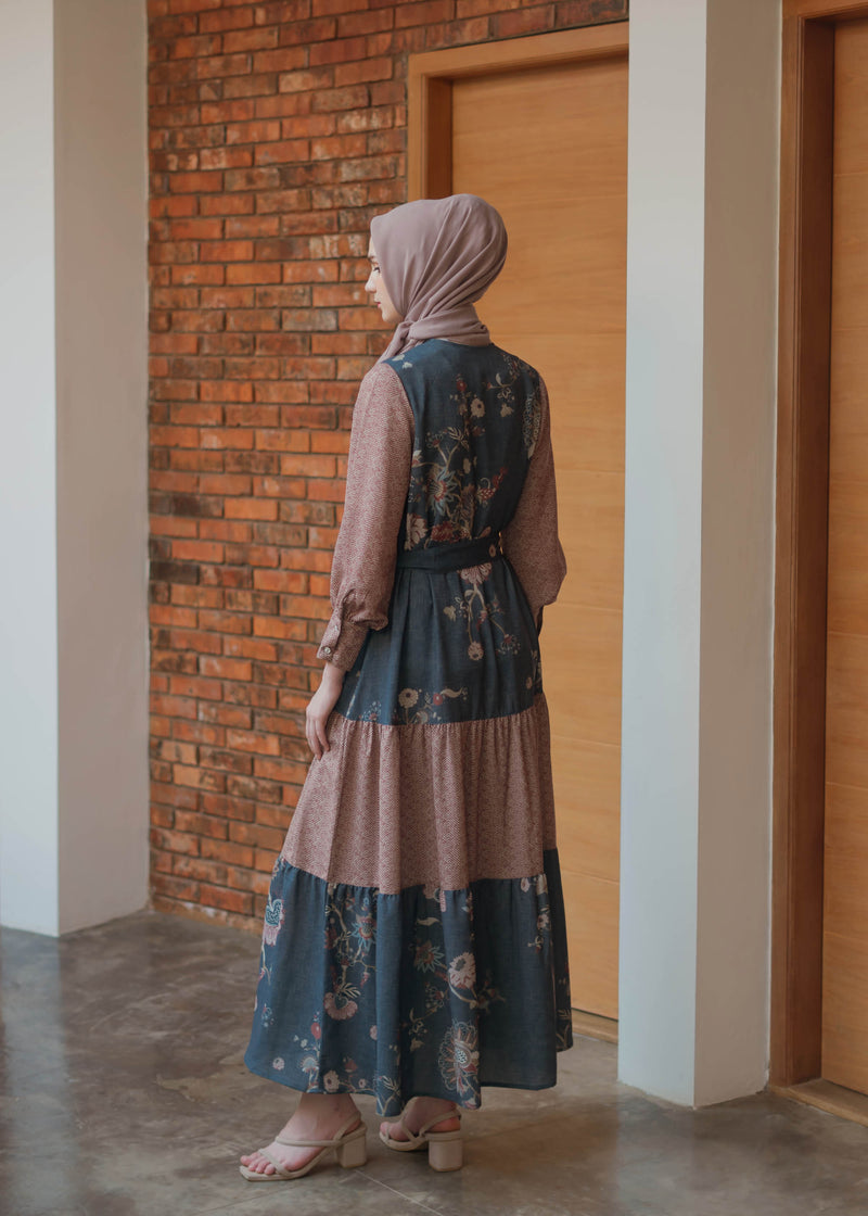 Kalina Dress Navy