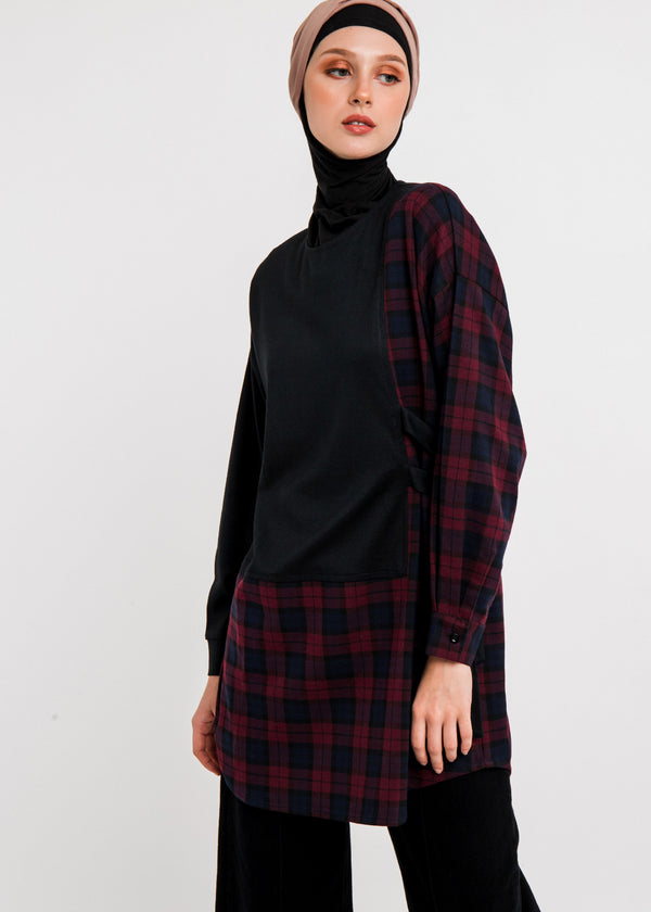 Nadra Tunic Black
