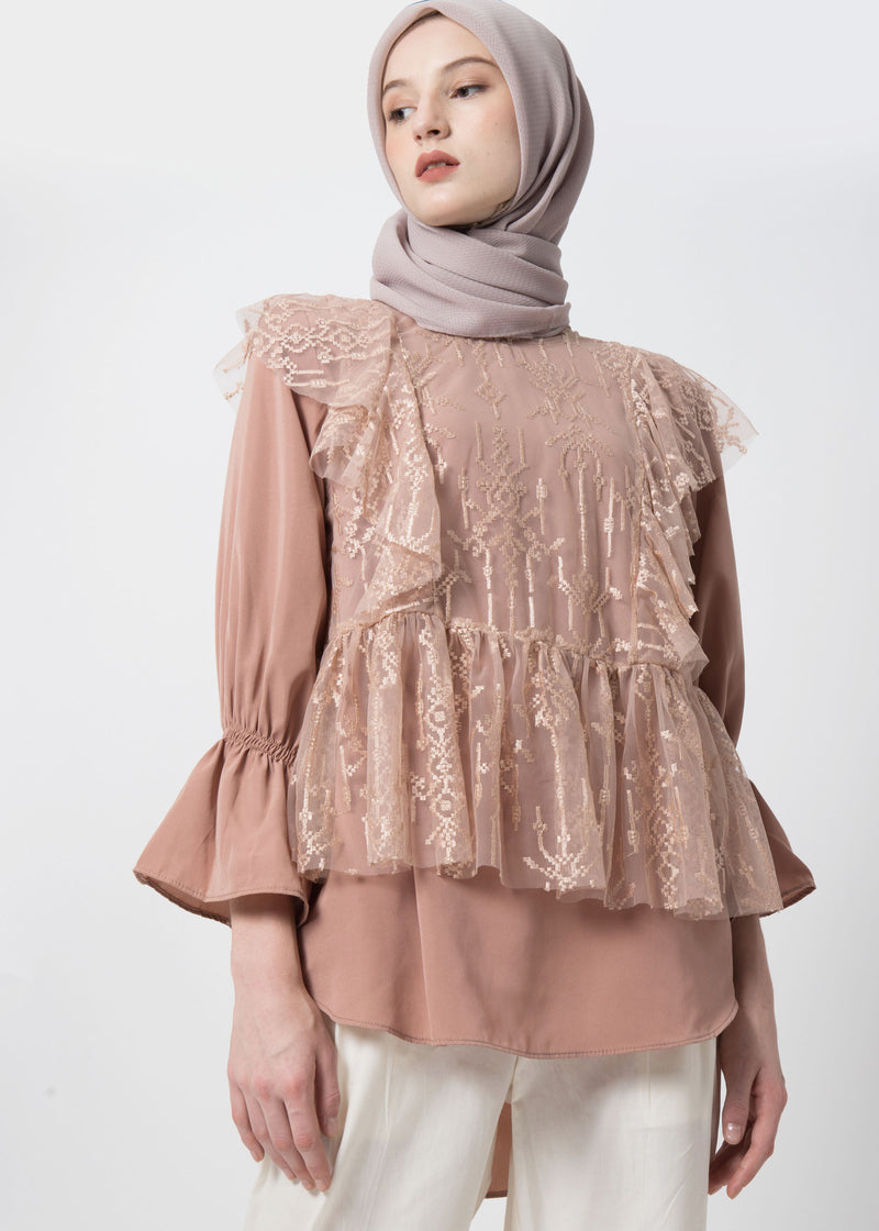 Zacia Top Set Dusty Pink