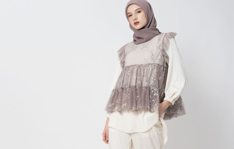 Zacima Top Set Gray