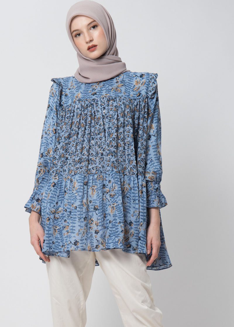 Zaina Top Blue