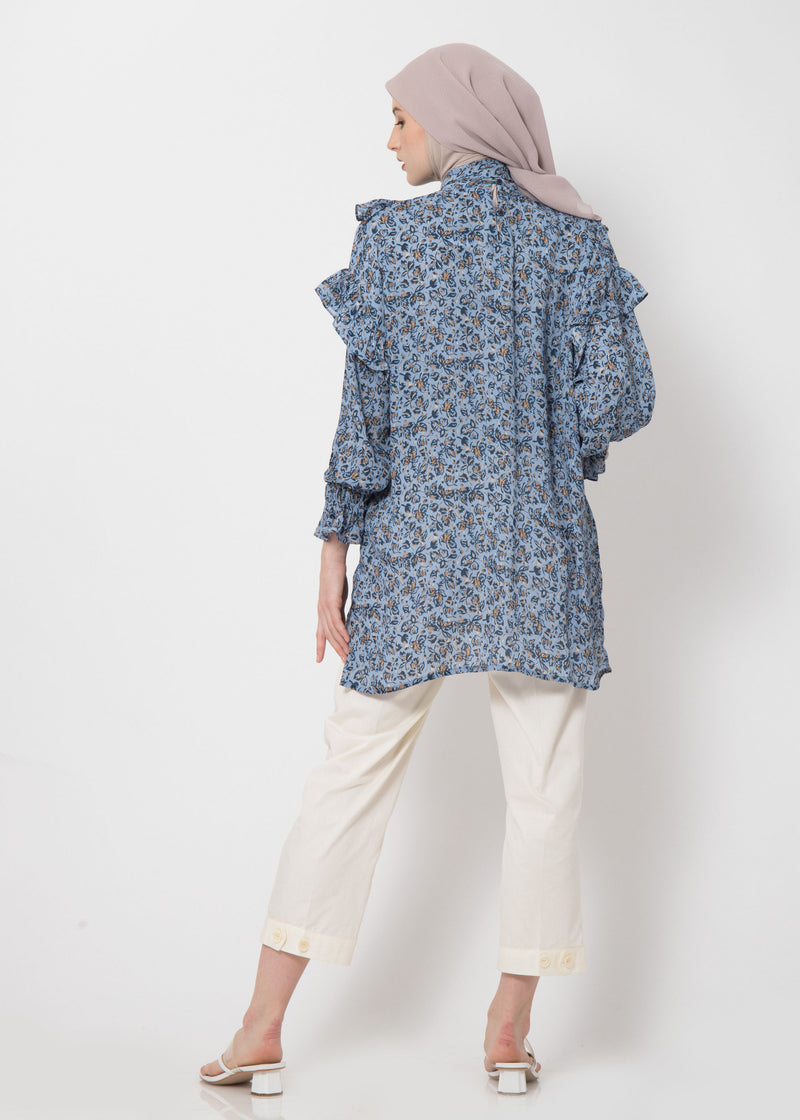 Zaska Top Blue