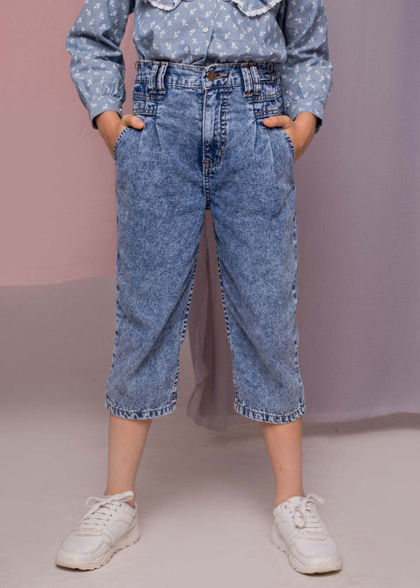 Vixy Denim Pants Blue