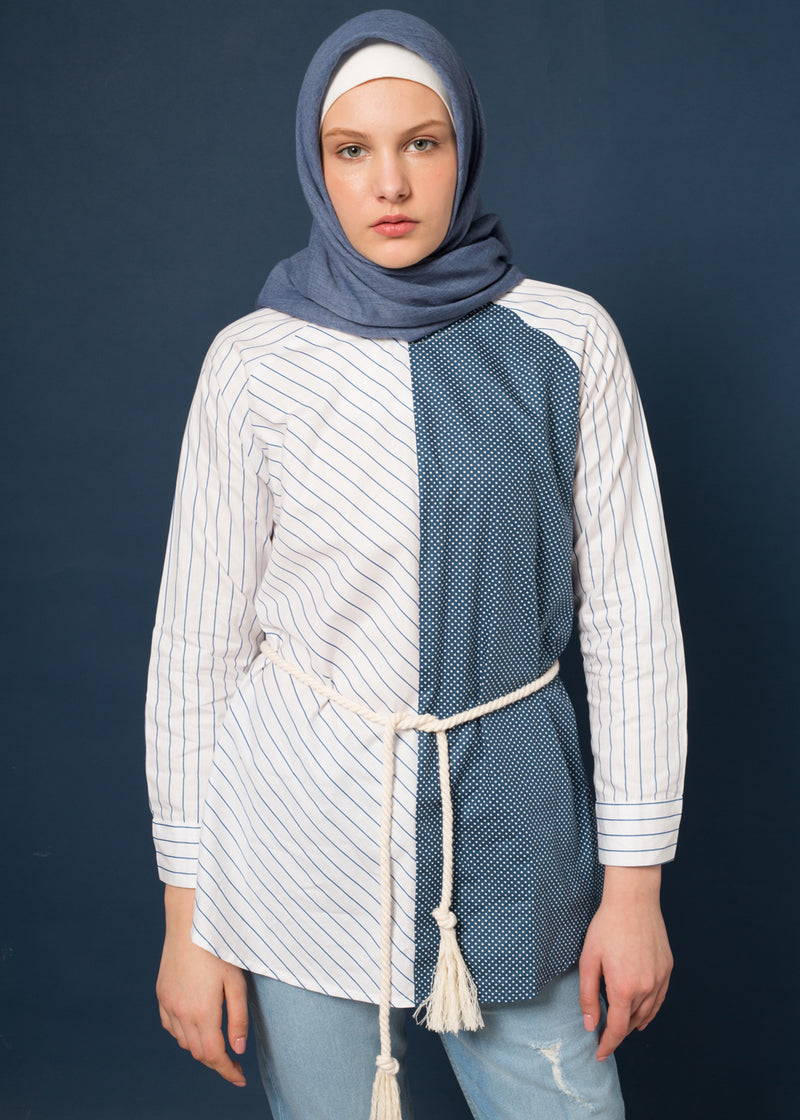 Moza Top Blue