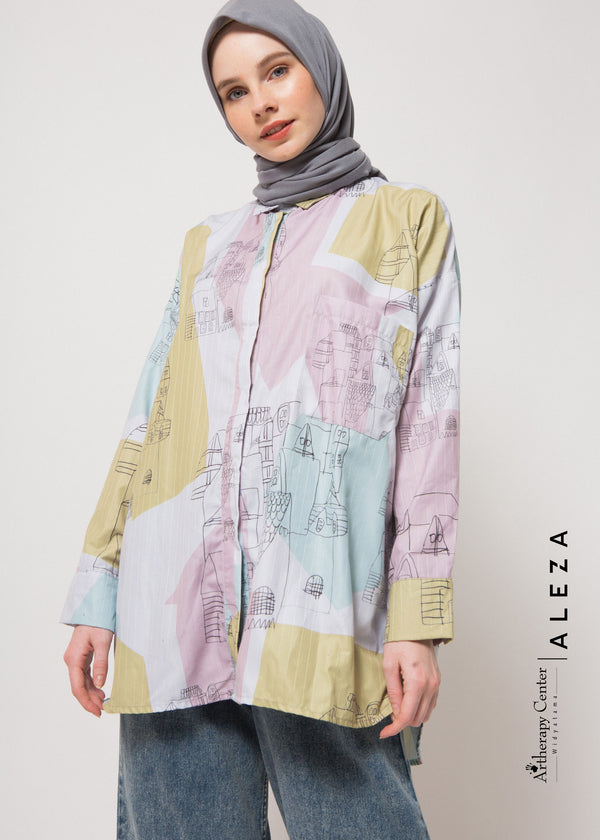 Adela Shirt Dusty Gray