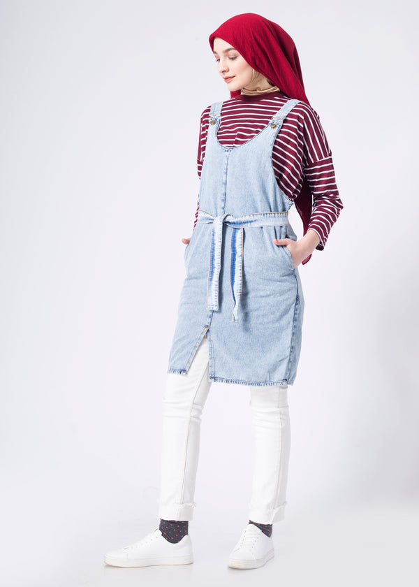Vero Overall Light Gray