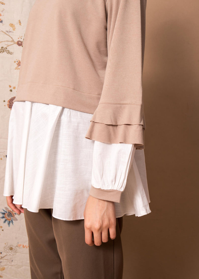 Namira Top Beige