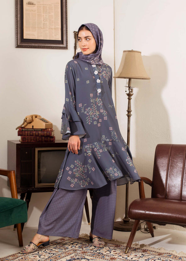 Zarra Tunic Navy