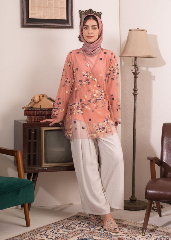 Zemima Top Set Rosepink