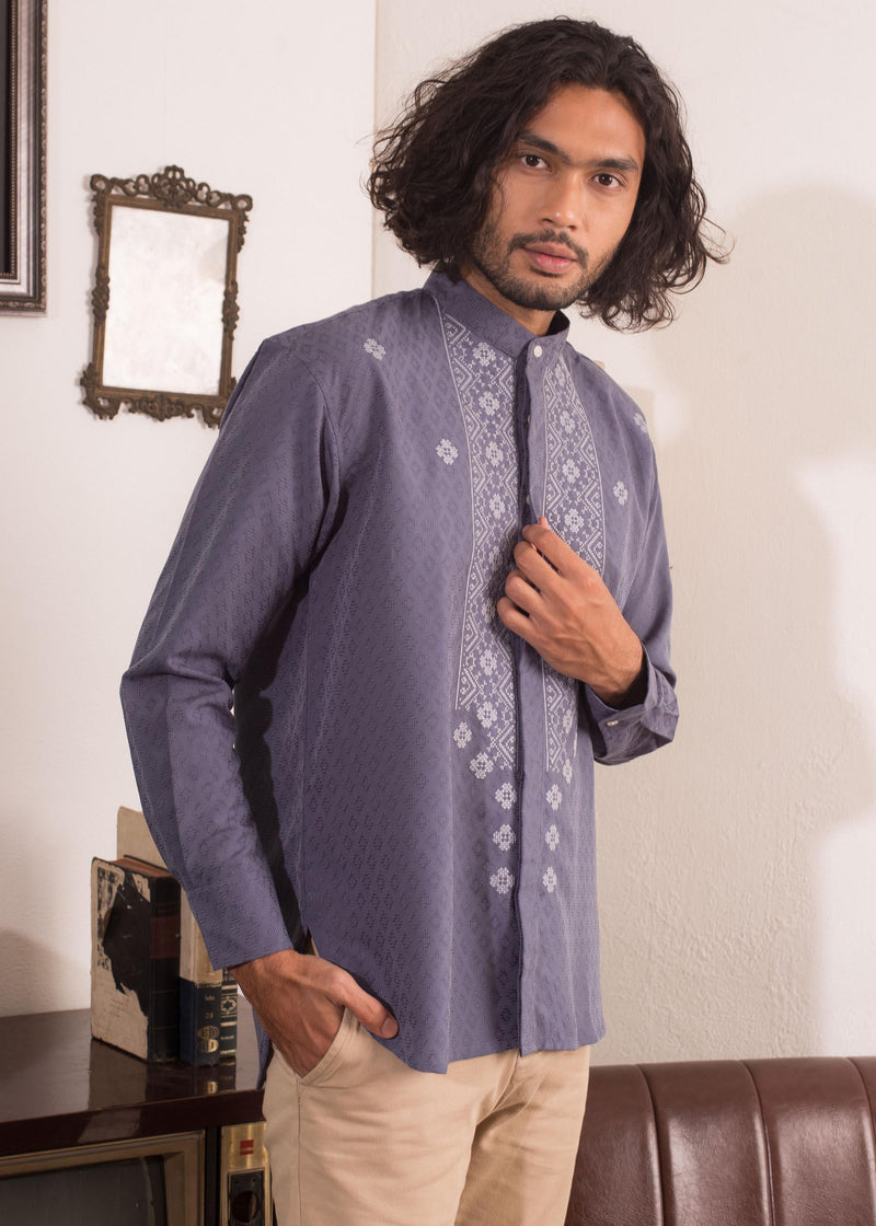 Zidra Shirt Navy