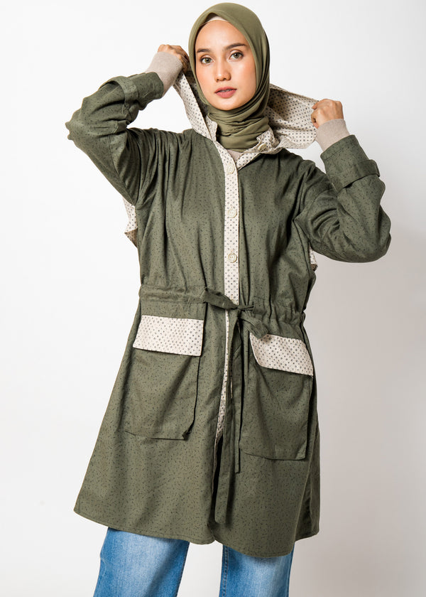 Ghina Hoodie Outer Army