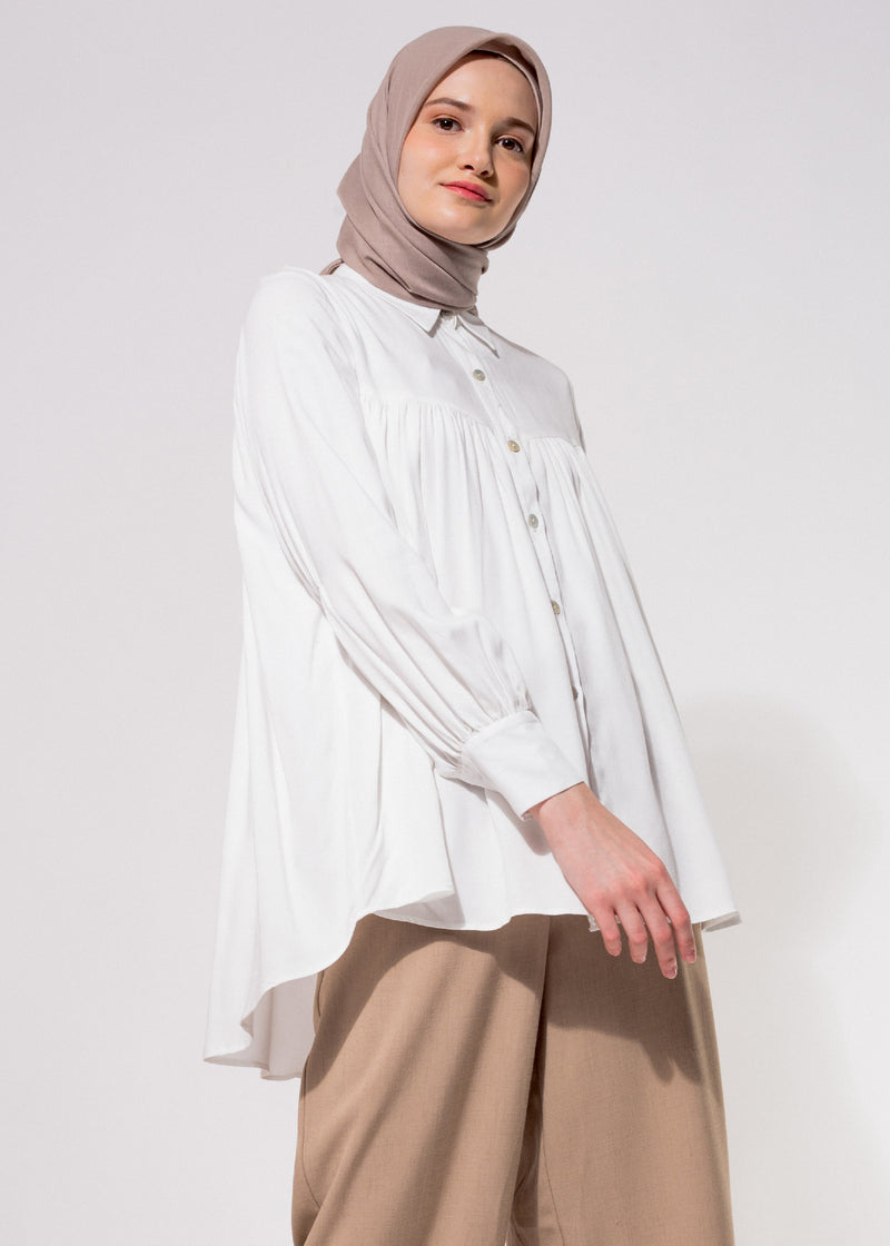Diana Shirt White