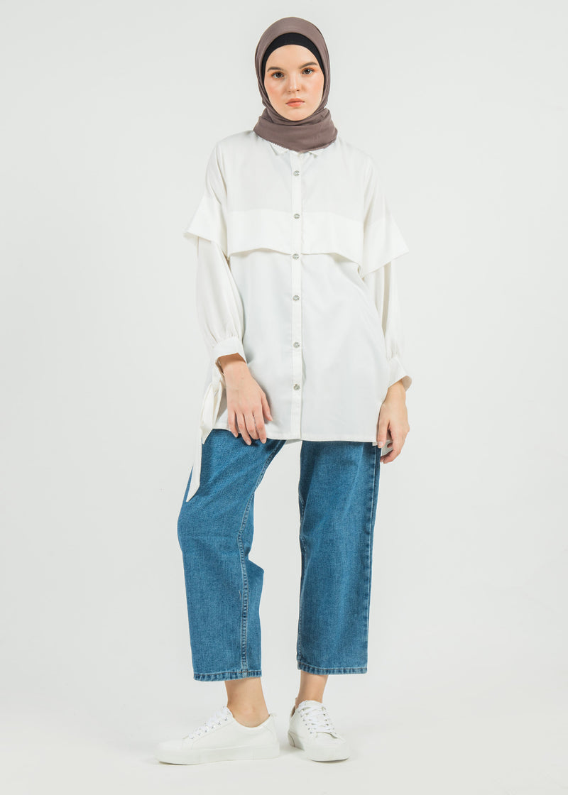 Miori Shirt Broken White