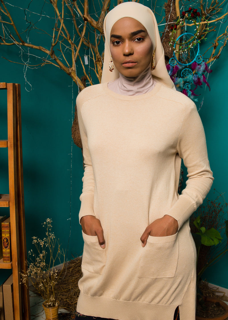 Qaila Sweater Creme