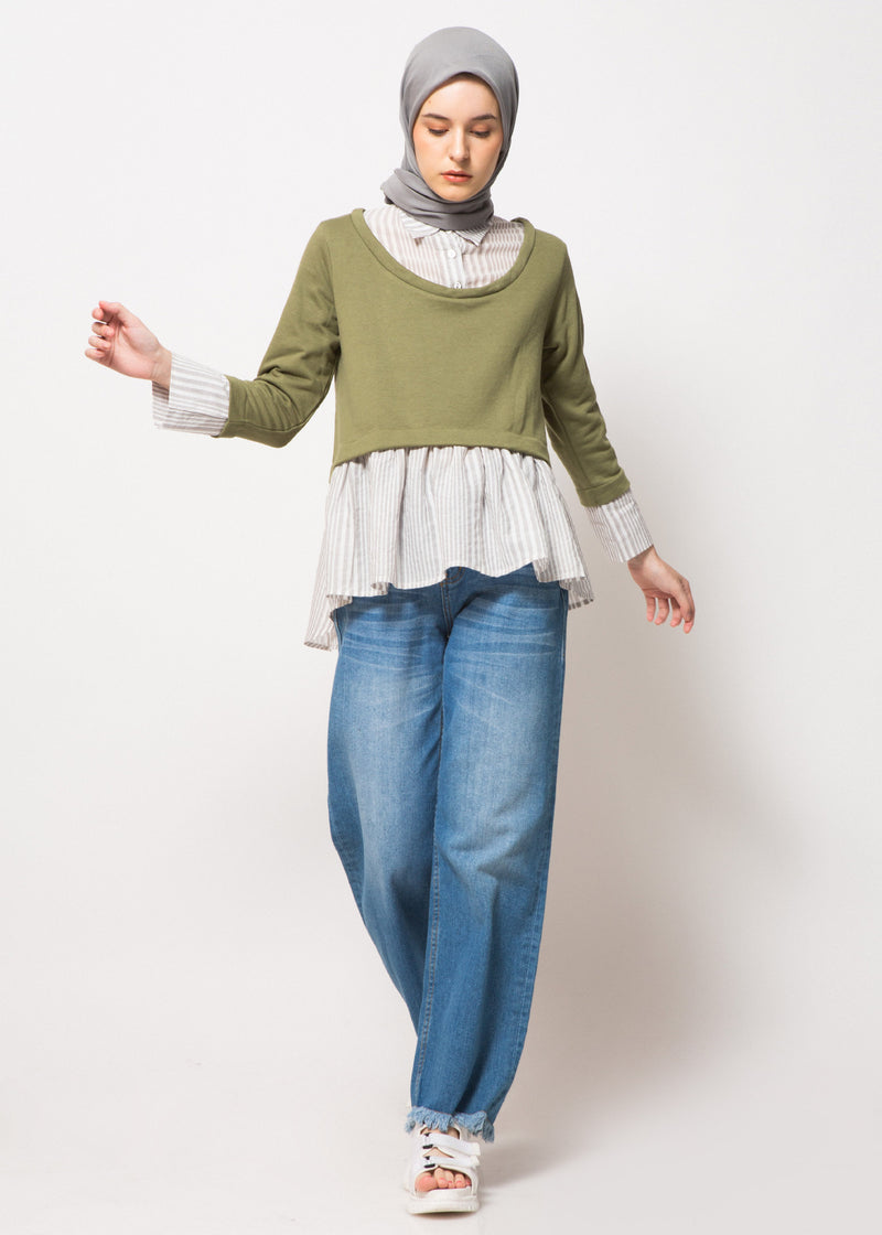 Ghaida Sweatshirt Green