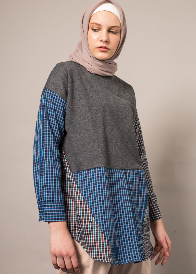 Miza Top Gray