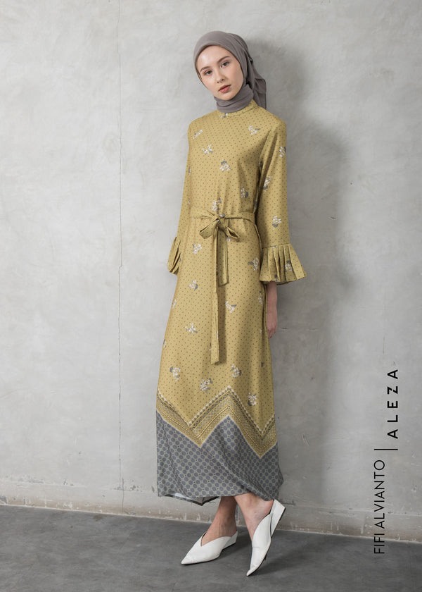 Fizy Dress Yellow