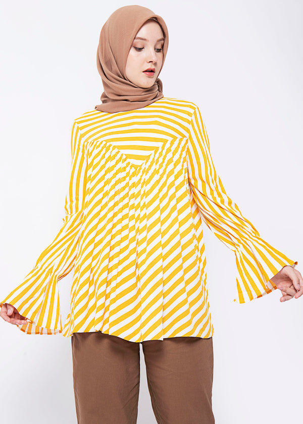 Karina Top Yellow