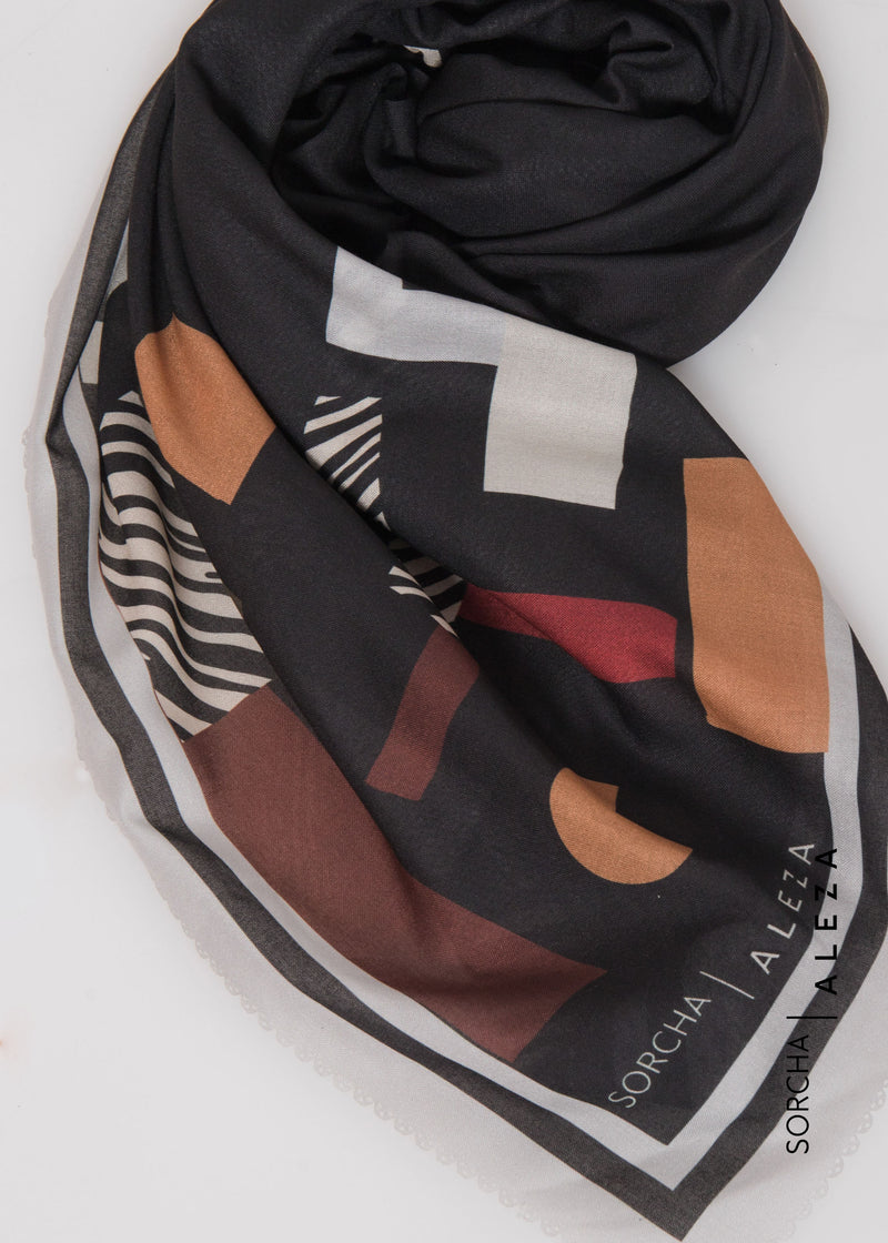 Sanaya Scarves Black