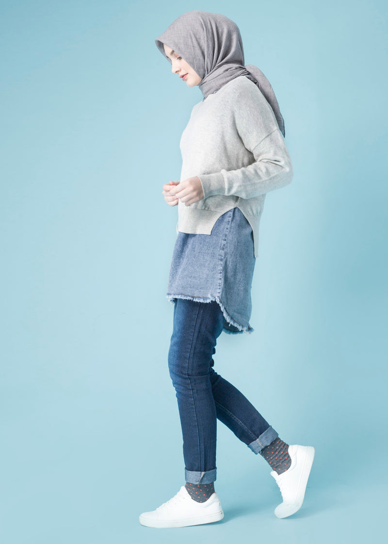 Valia Sweater Cloud Gray