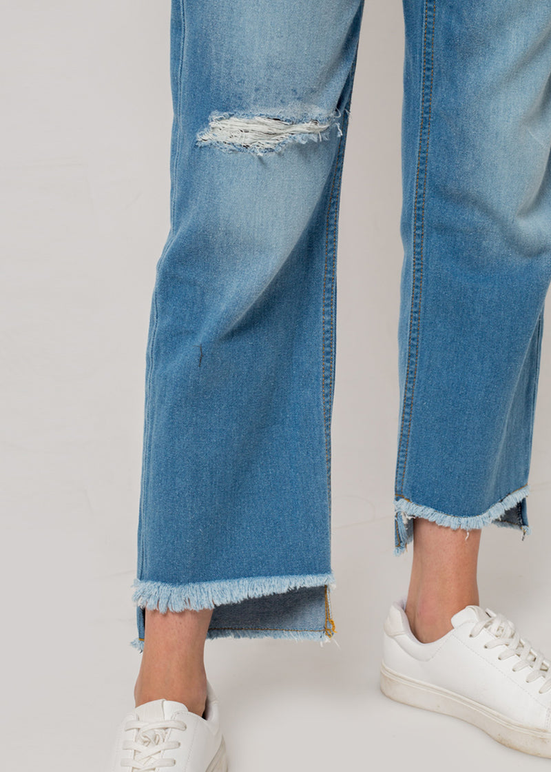 Chloe Ripped Jeans Blue