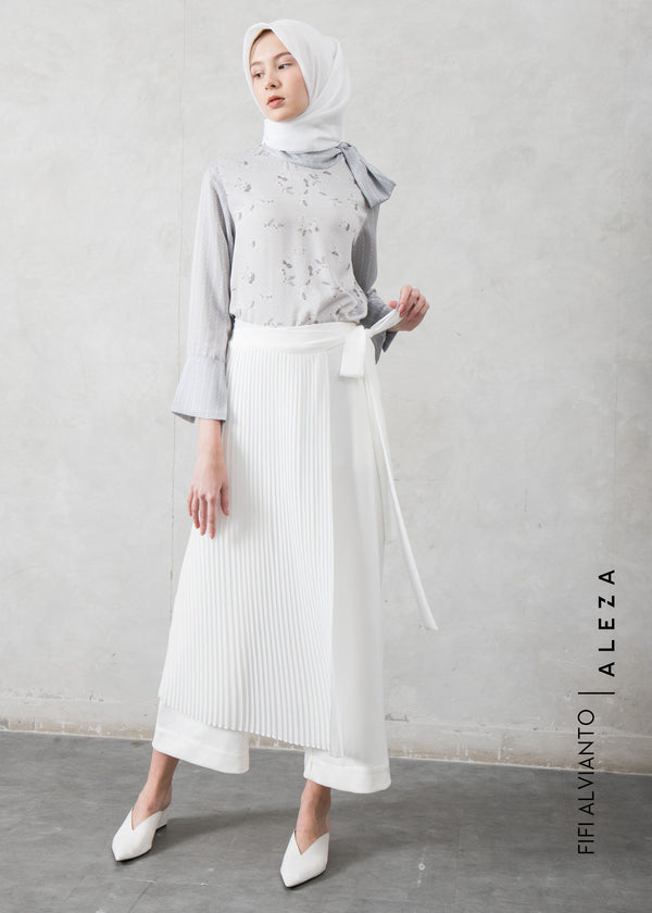 Fizka Layer Pants Broken White