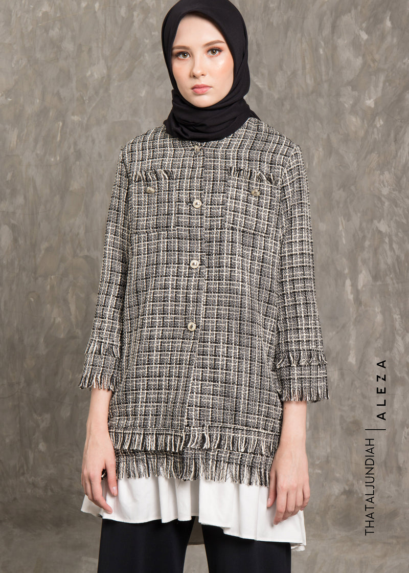 Thavi Tweed Outer Black