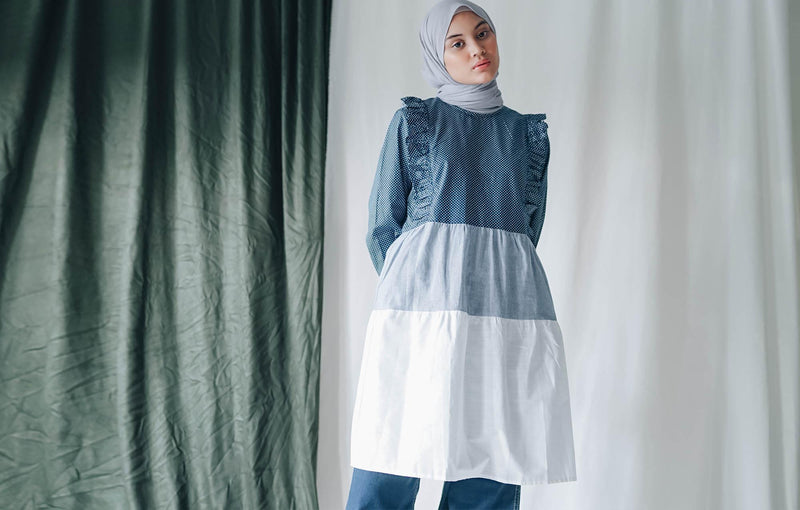 Savara Tunic Navy
