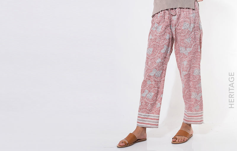 Almia Pants Dusty Pink