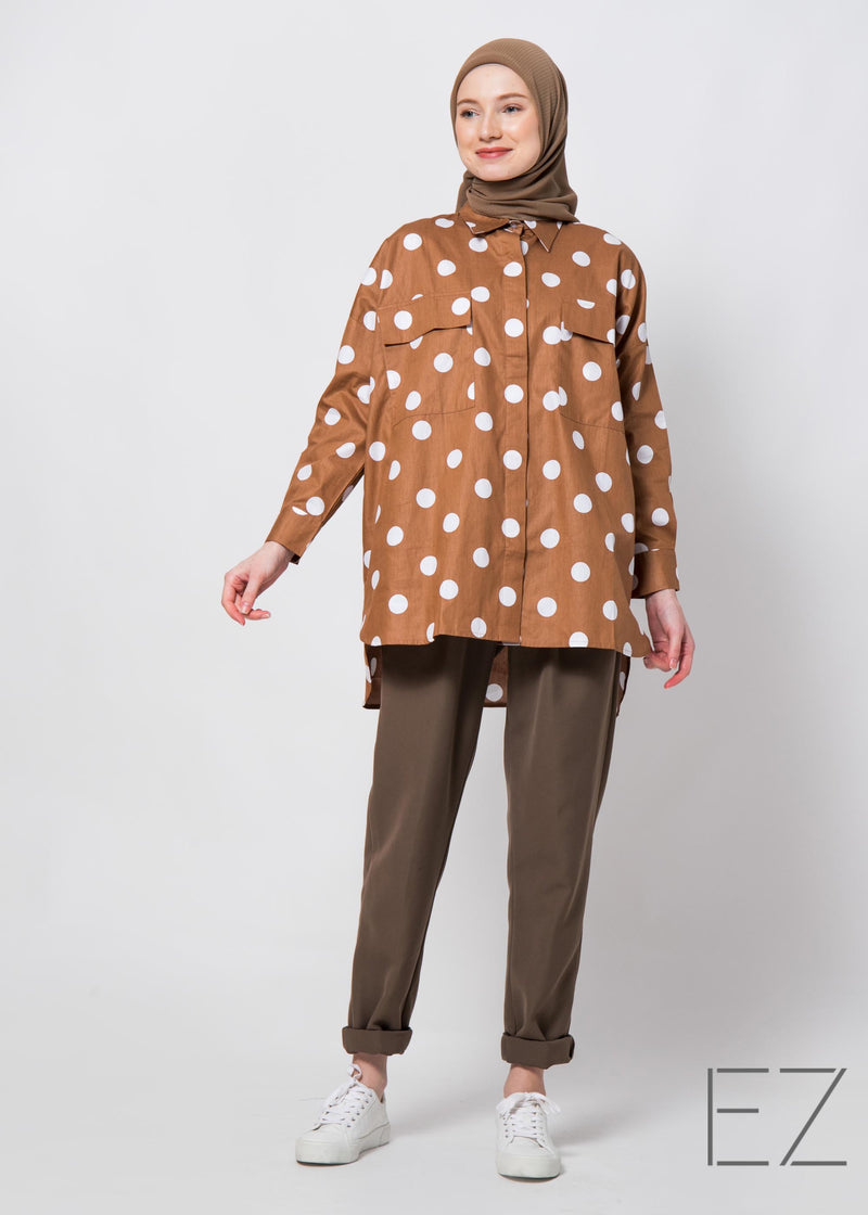 Tava Shirt Brown