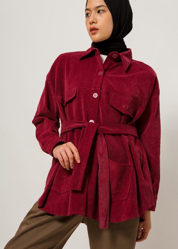 Zio Outer Maroon