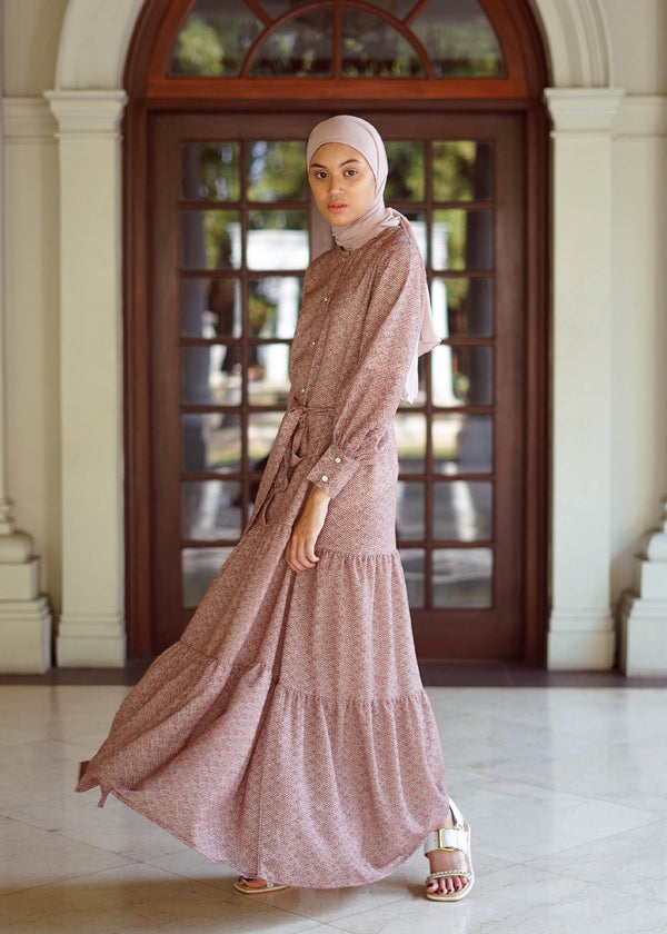 Kayra Dress Rosewood