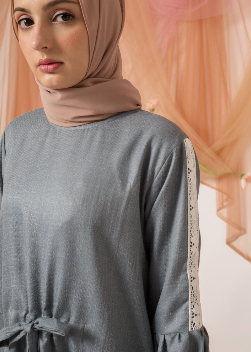 Velicia Top Dusty Blue