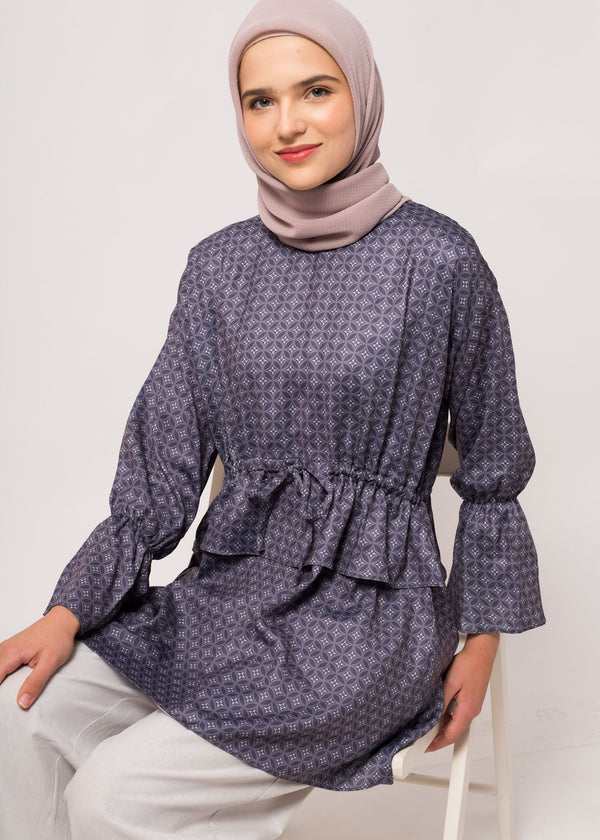 Gavvie Top Dark Gray
