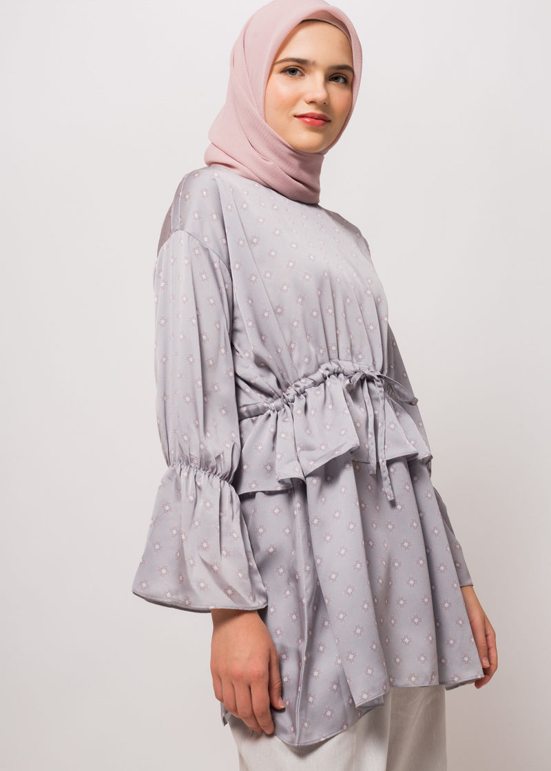 Gavvie Top Light Gray