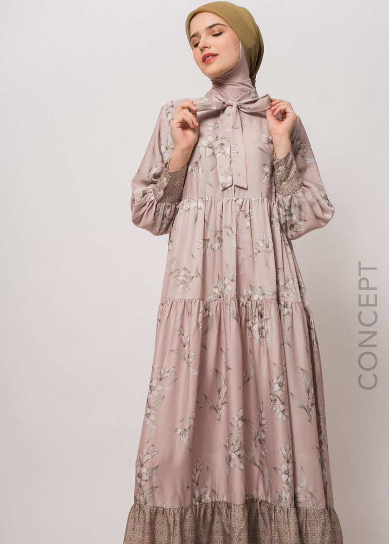 Sadira Dress Beige