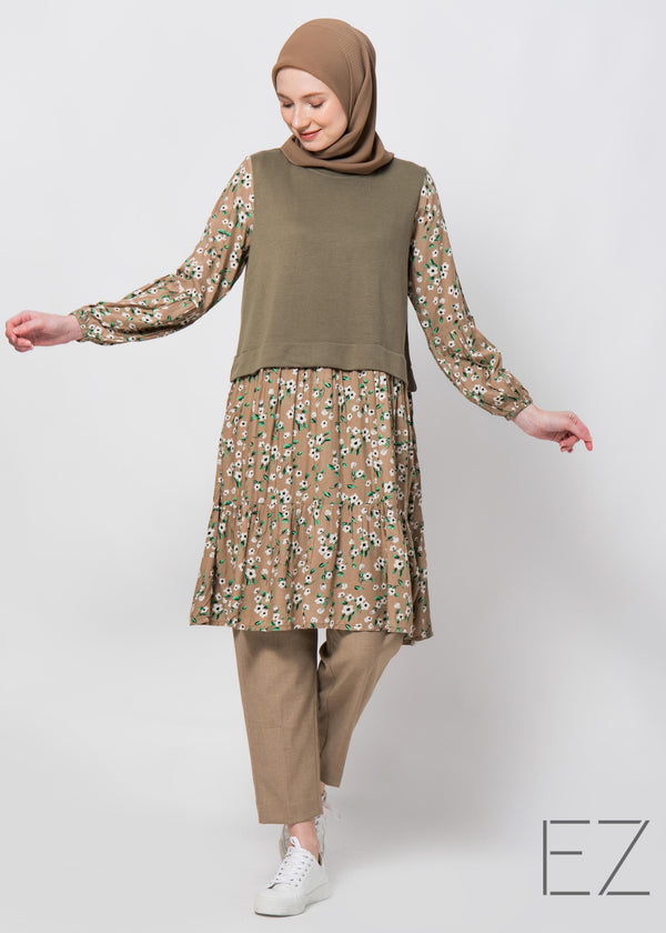 Teira Tunic Brown