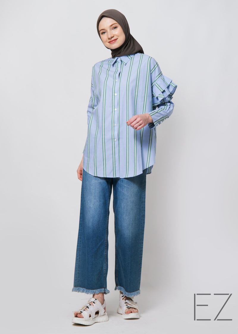 Tivya Shirt Soft Blue