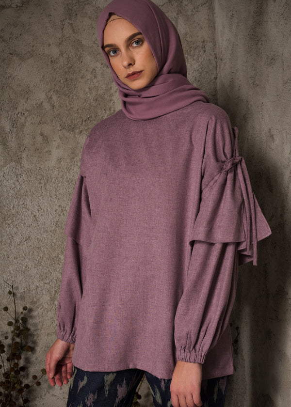 Nesya Top Purple