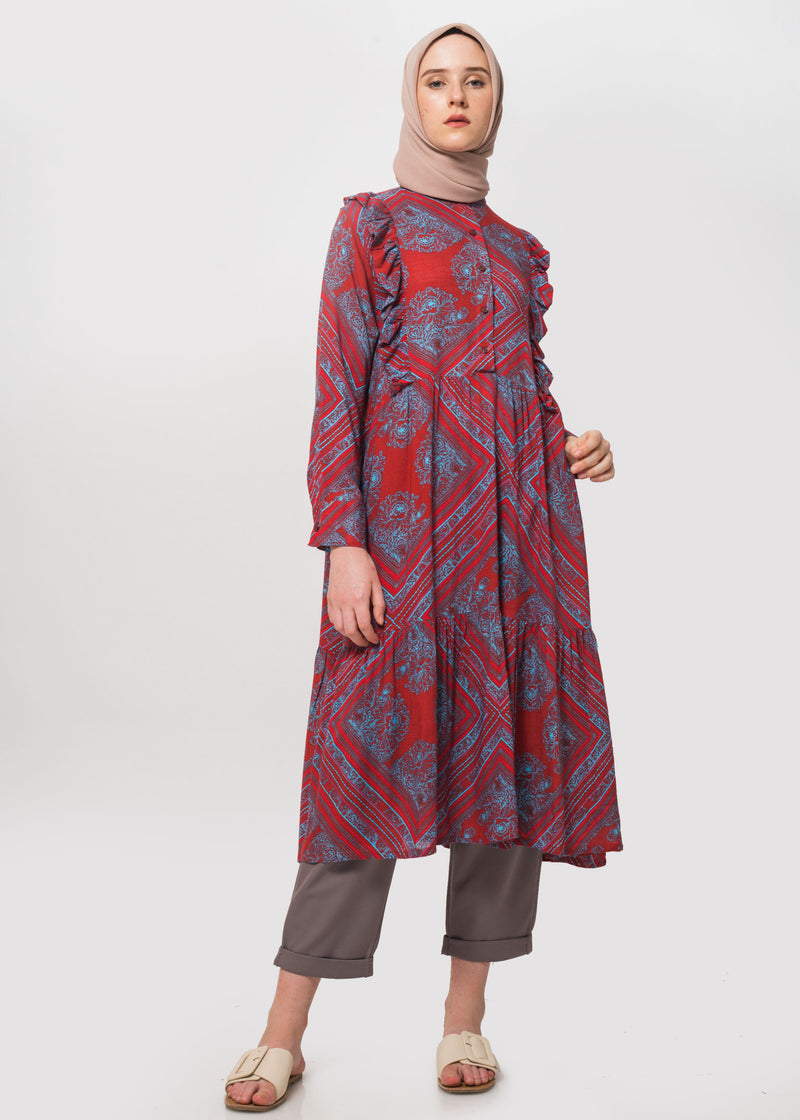 Rhema Tunic Red