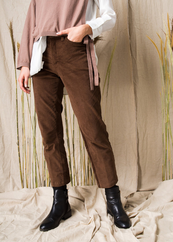 Mayqa Curdoray Pants Brown
