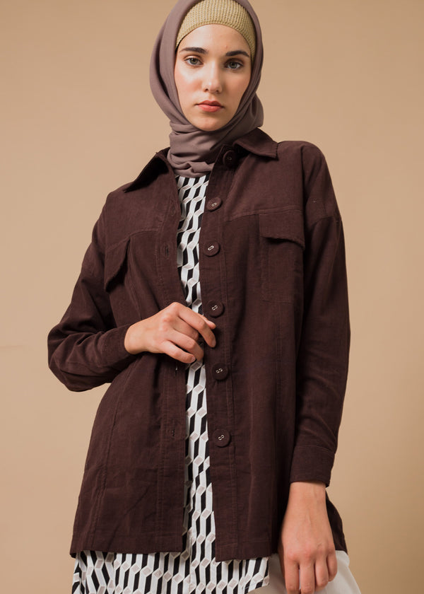 Maxila Curdoray Jacket Maroon