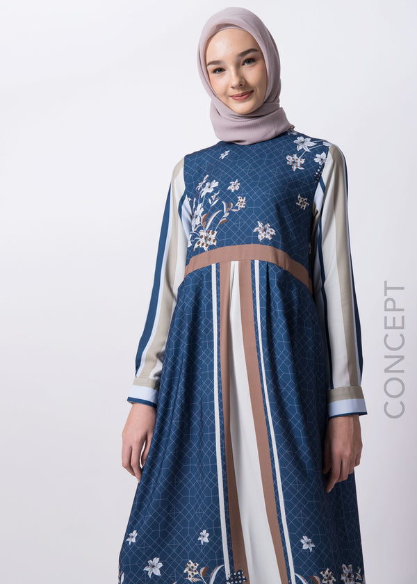Julia Dress Navy